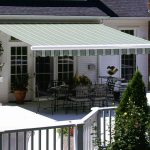 Elegant Retractable Deck Awnings