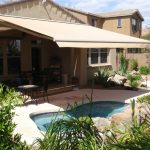 Elegant Retractable Patio Awning