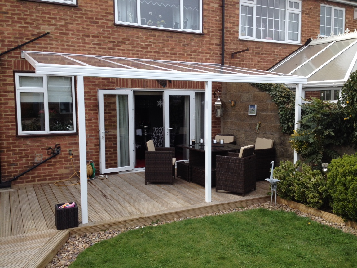 Image of: Excellent Canopies for Decks