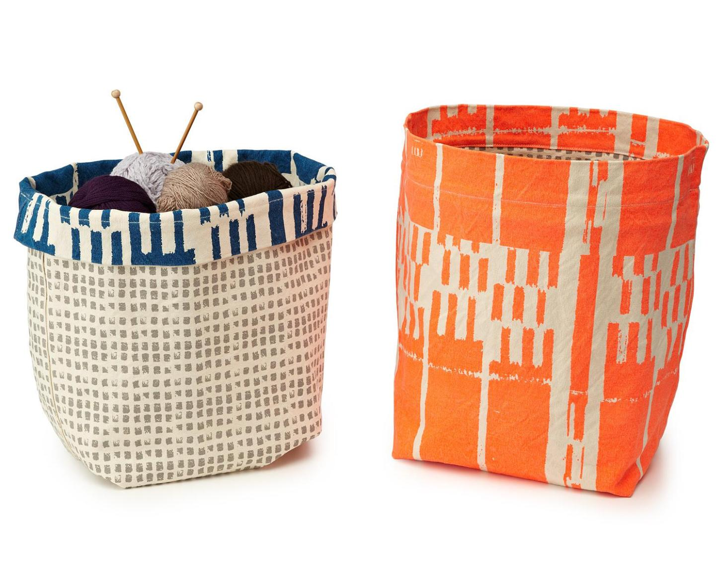 Image of: Fabric Cube Storage Bins