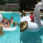 Feel Good Pool Lounge Float with a Canopy