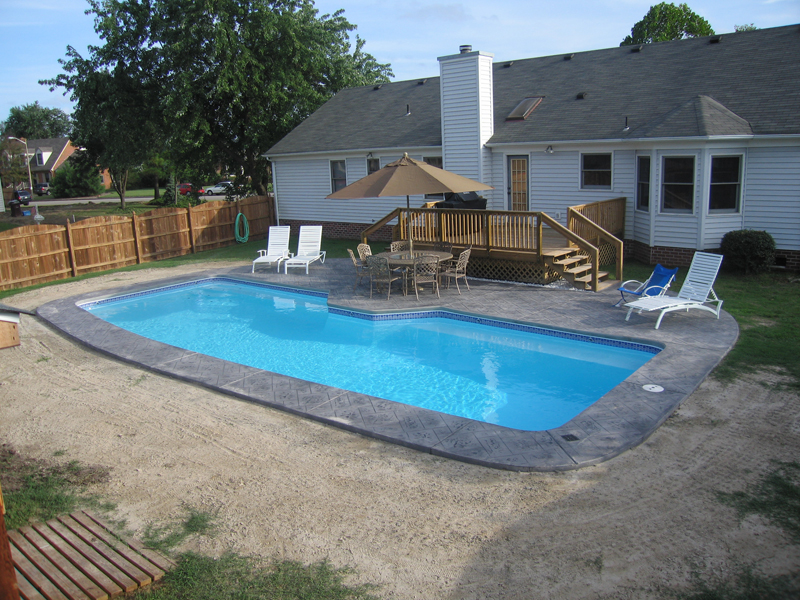 Image of: Fiberglass Inground Pools Ideas