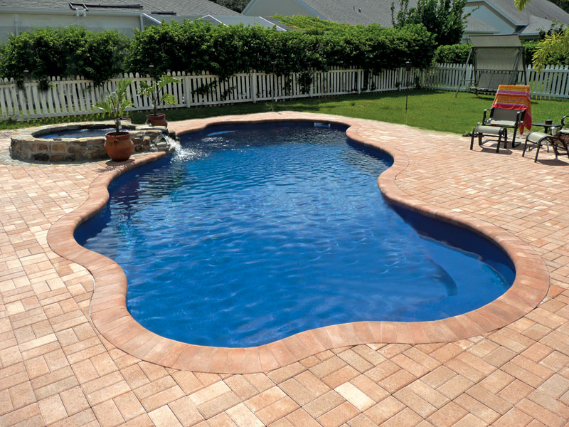 Fiberglass Swimming Pools Simple