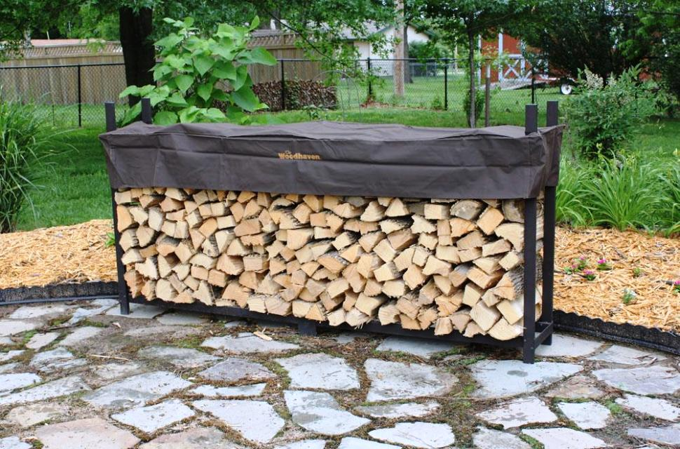 Image of: Firewood Rack Cover