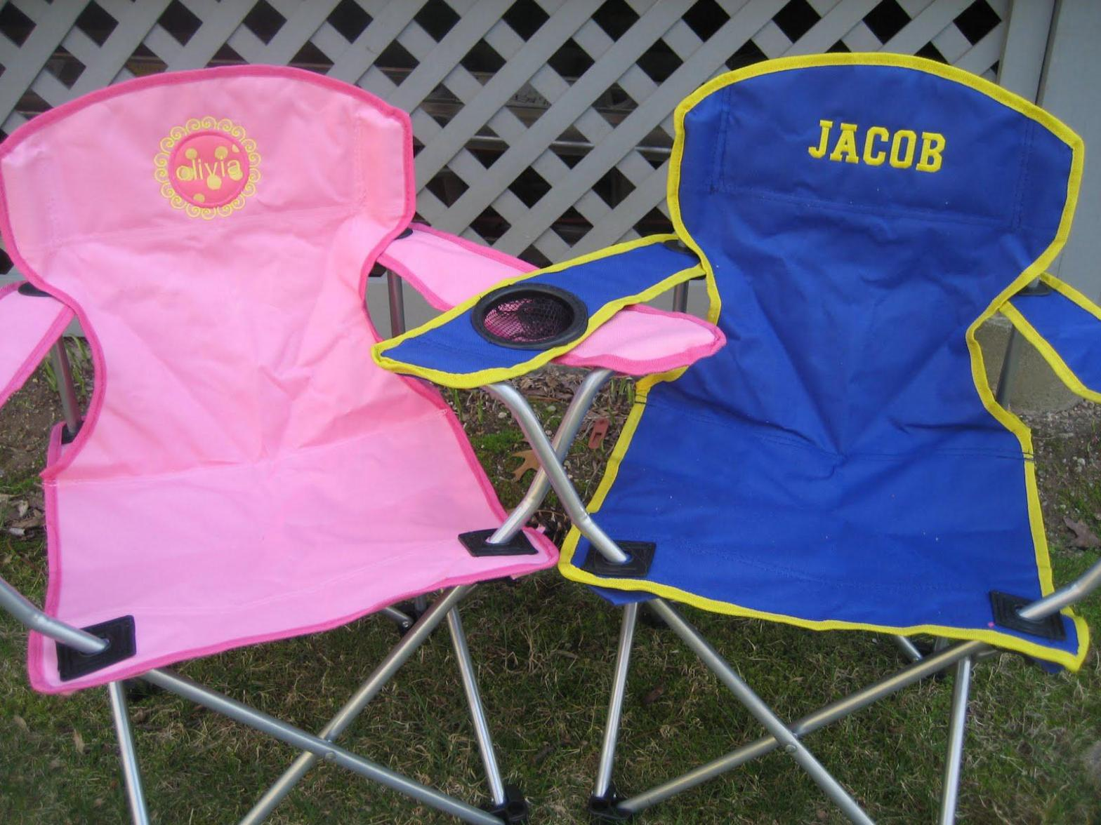 Image of: Folding Camp Chairs for Kids
