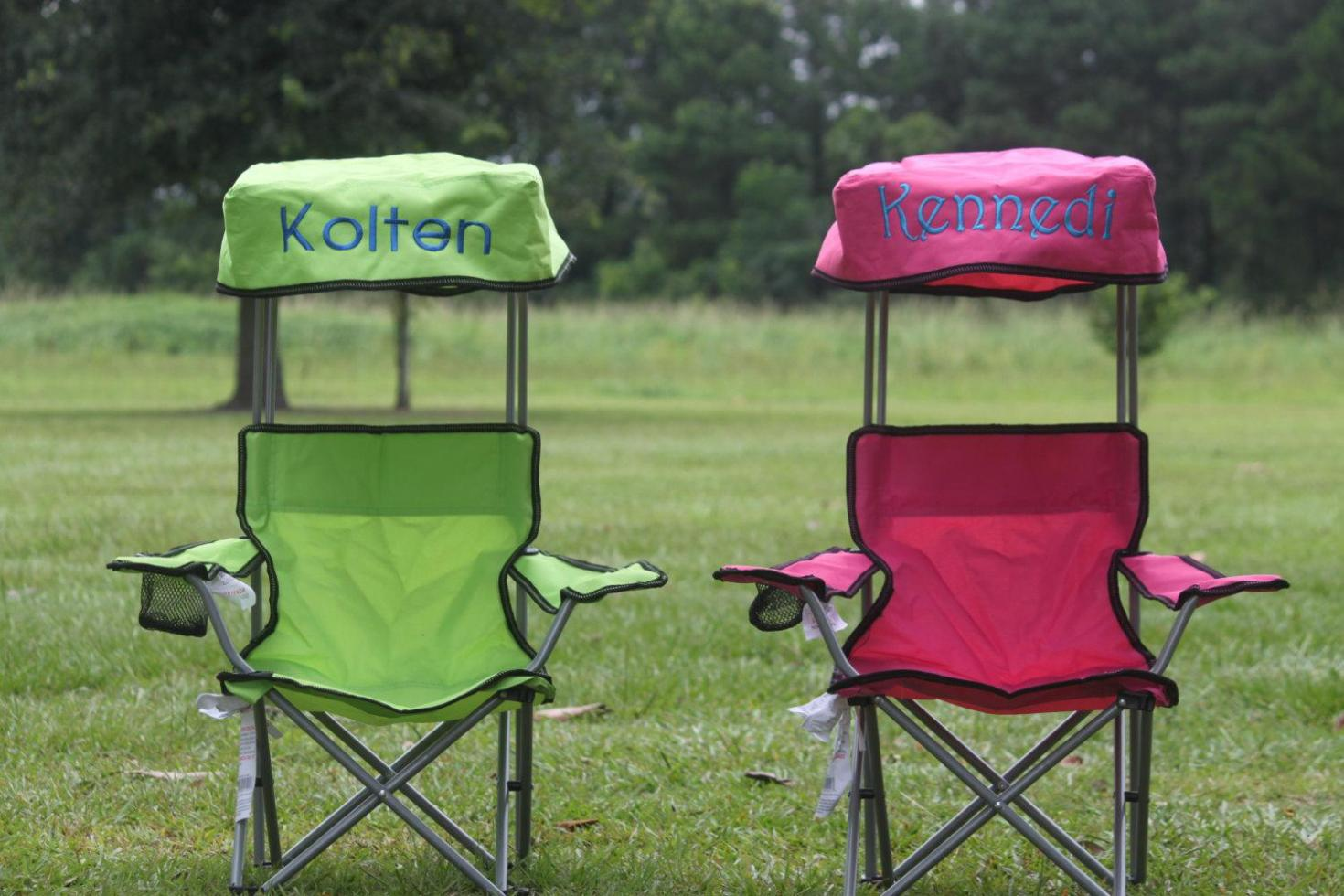 Image of: Folding Camping Table Chairs