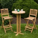 Folding Deck Table Round