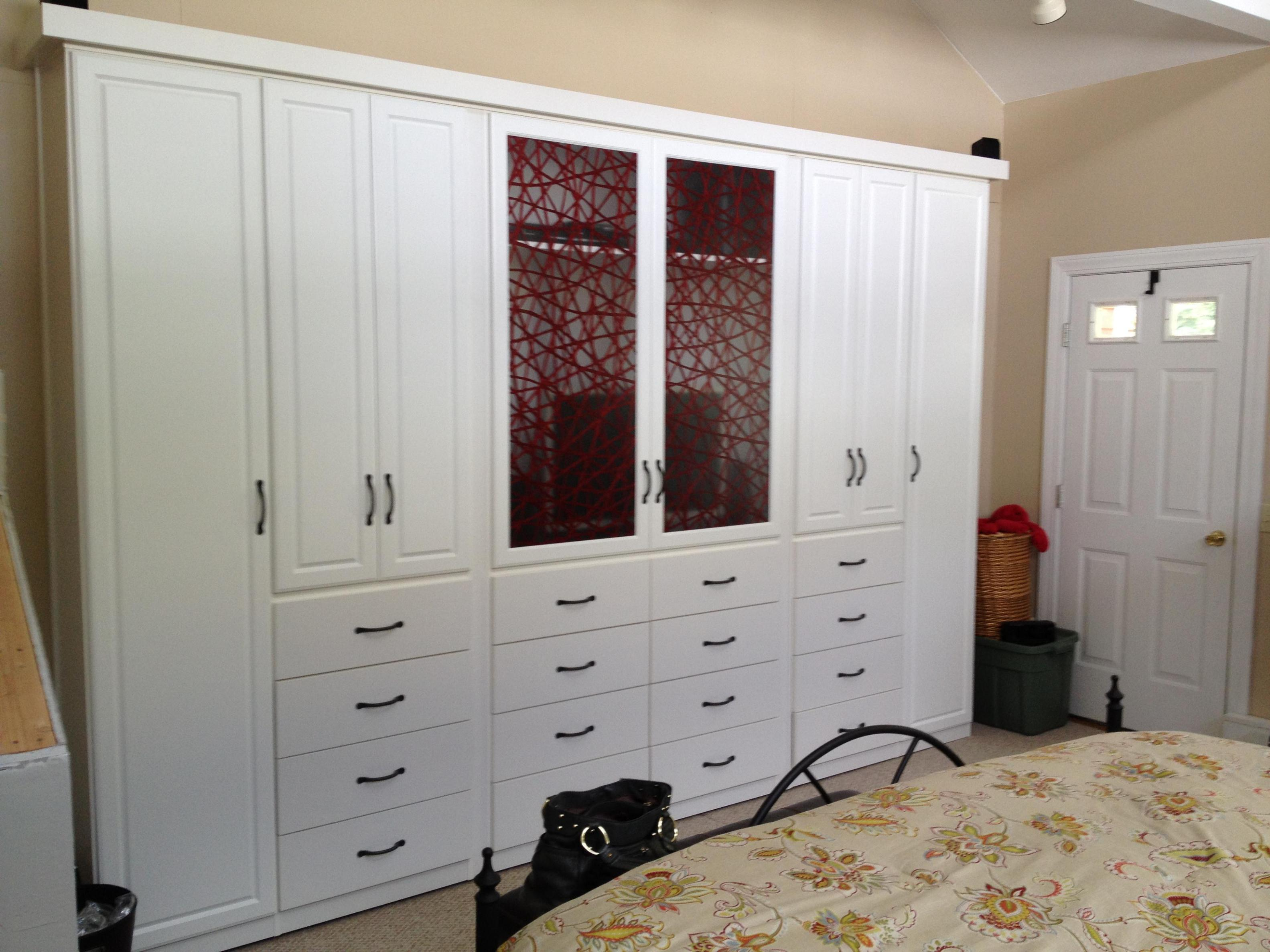 Image of: Free Standing Wardrobe Closets