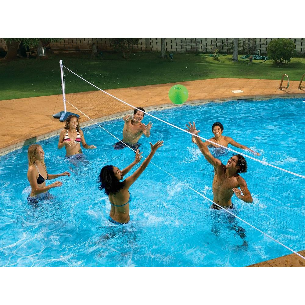 Image of: Fun Pool Volleyball Net