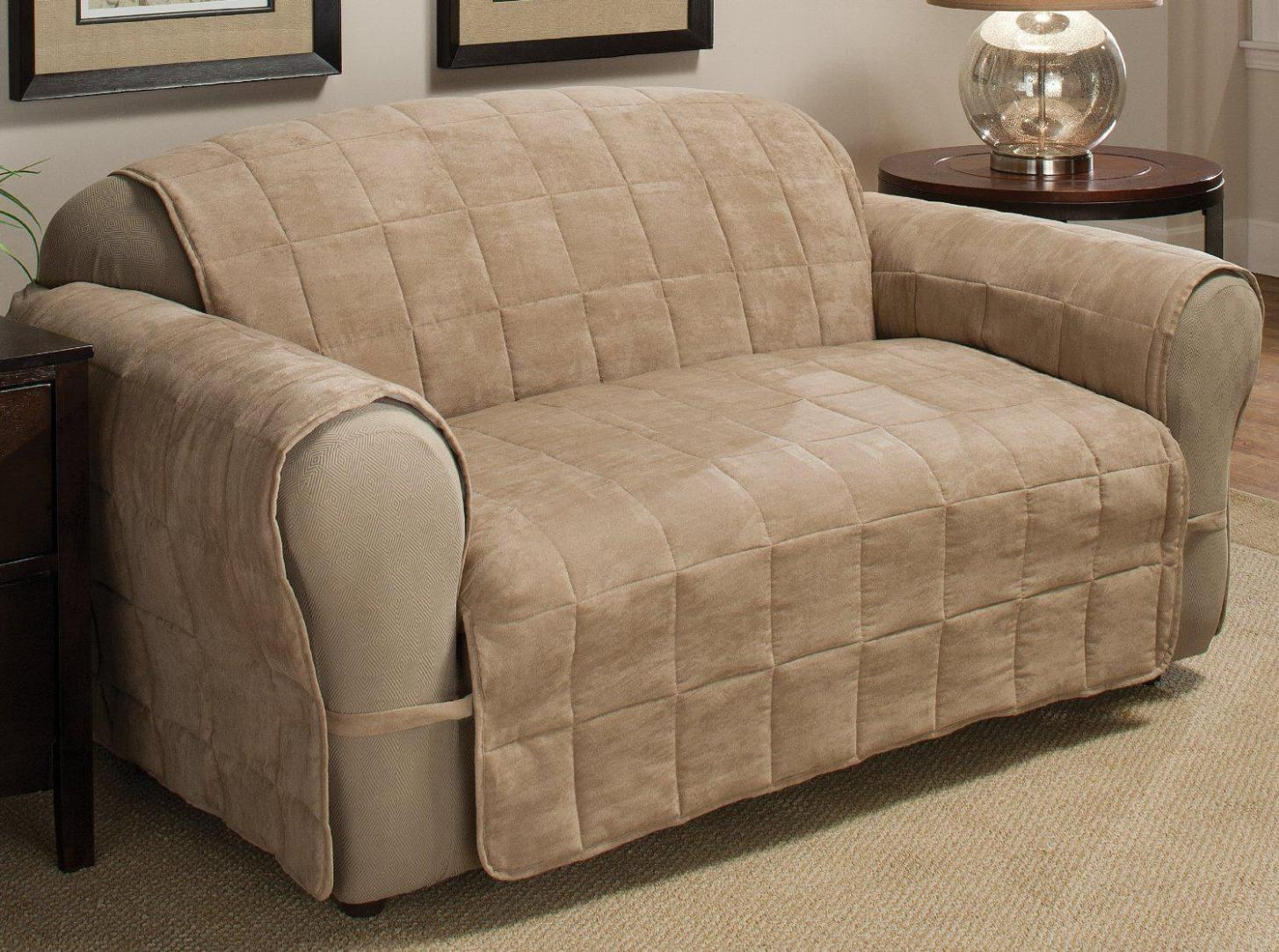 Image of: Furniture Slipcovers For Recliners