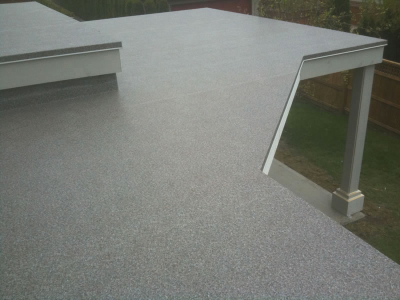 Image of: Good Vinyl Deck Covering Photo