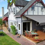 Gray Deck Awning