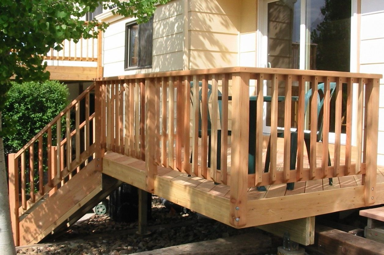 Image of: Great Deck Railing Designs