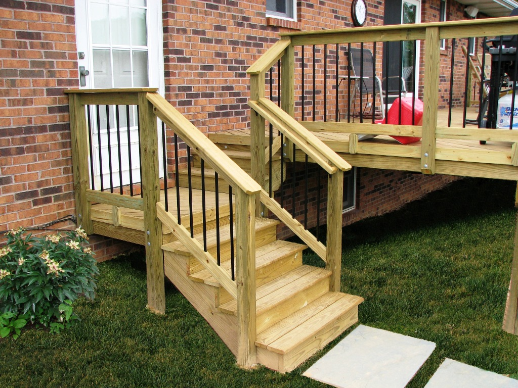 Great Deck Stair Railing