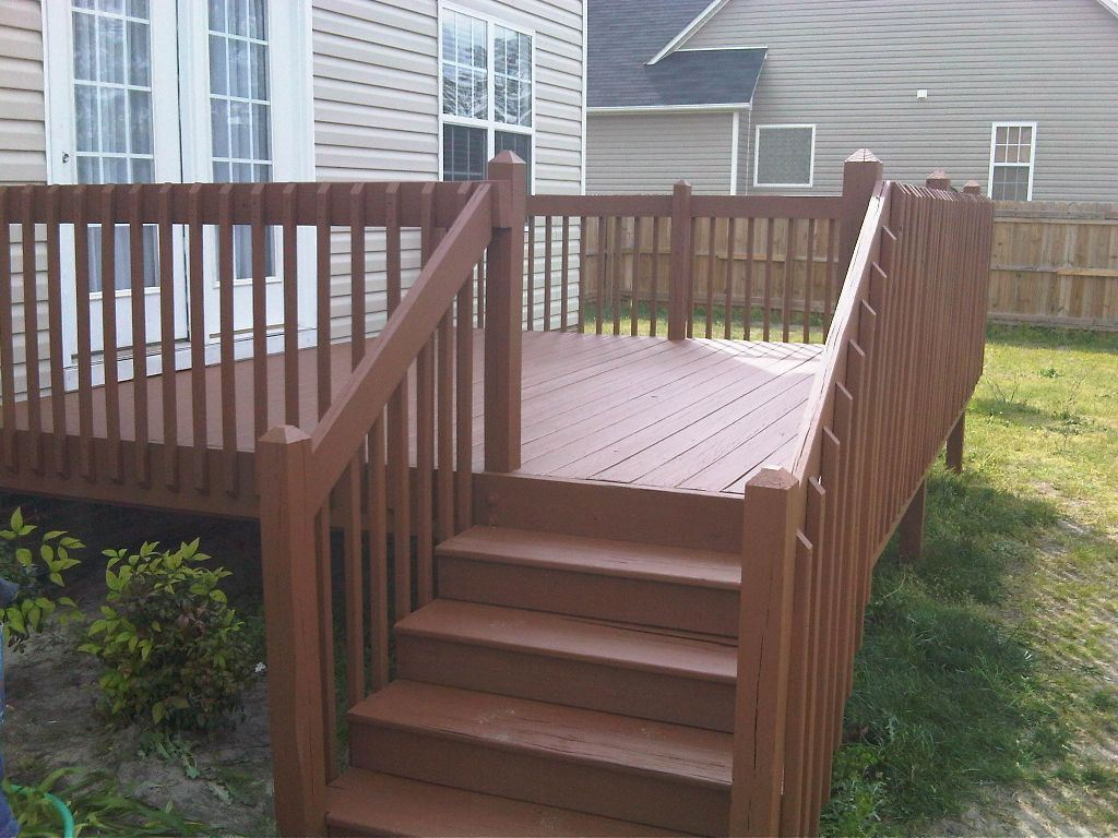 Image of: Great Solid Deck Stain