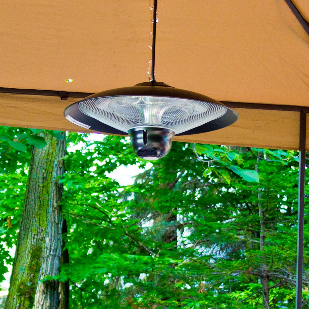 Image of: Hanging Propane Patio Heater