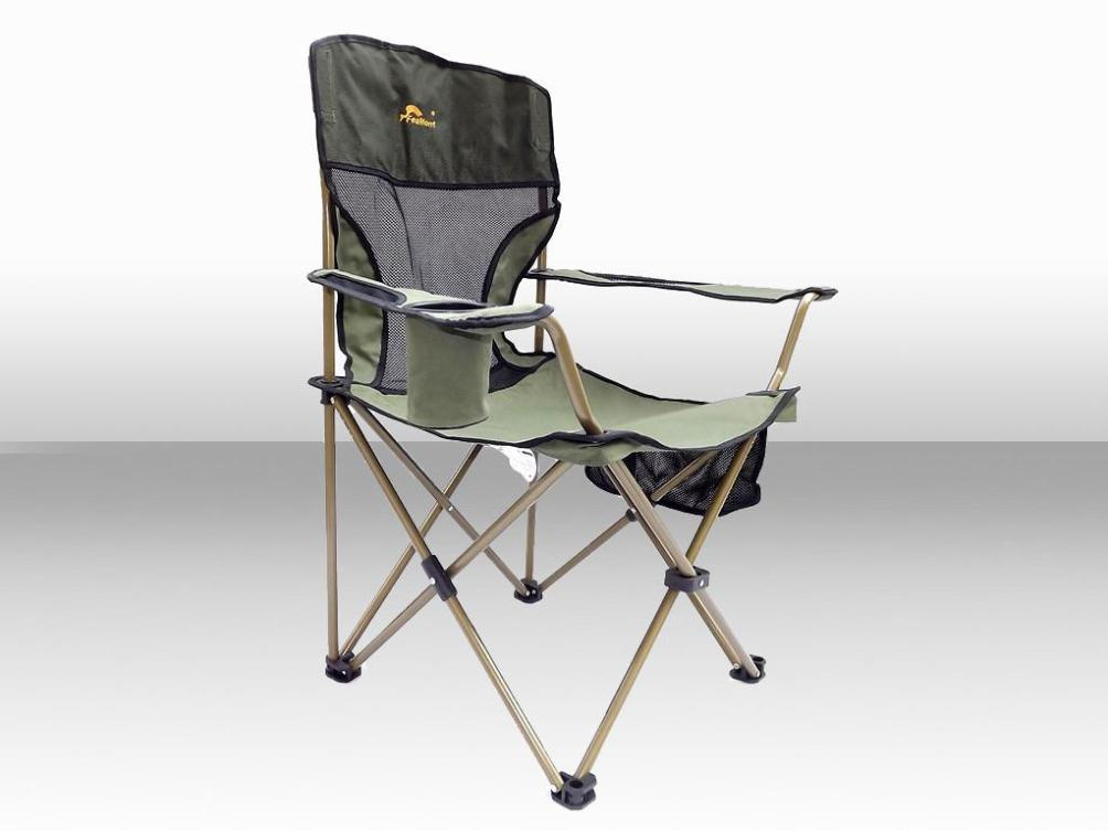 Image of: High Back Camping Chairs Folding