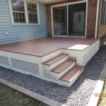 Home Composite Deck Stairs