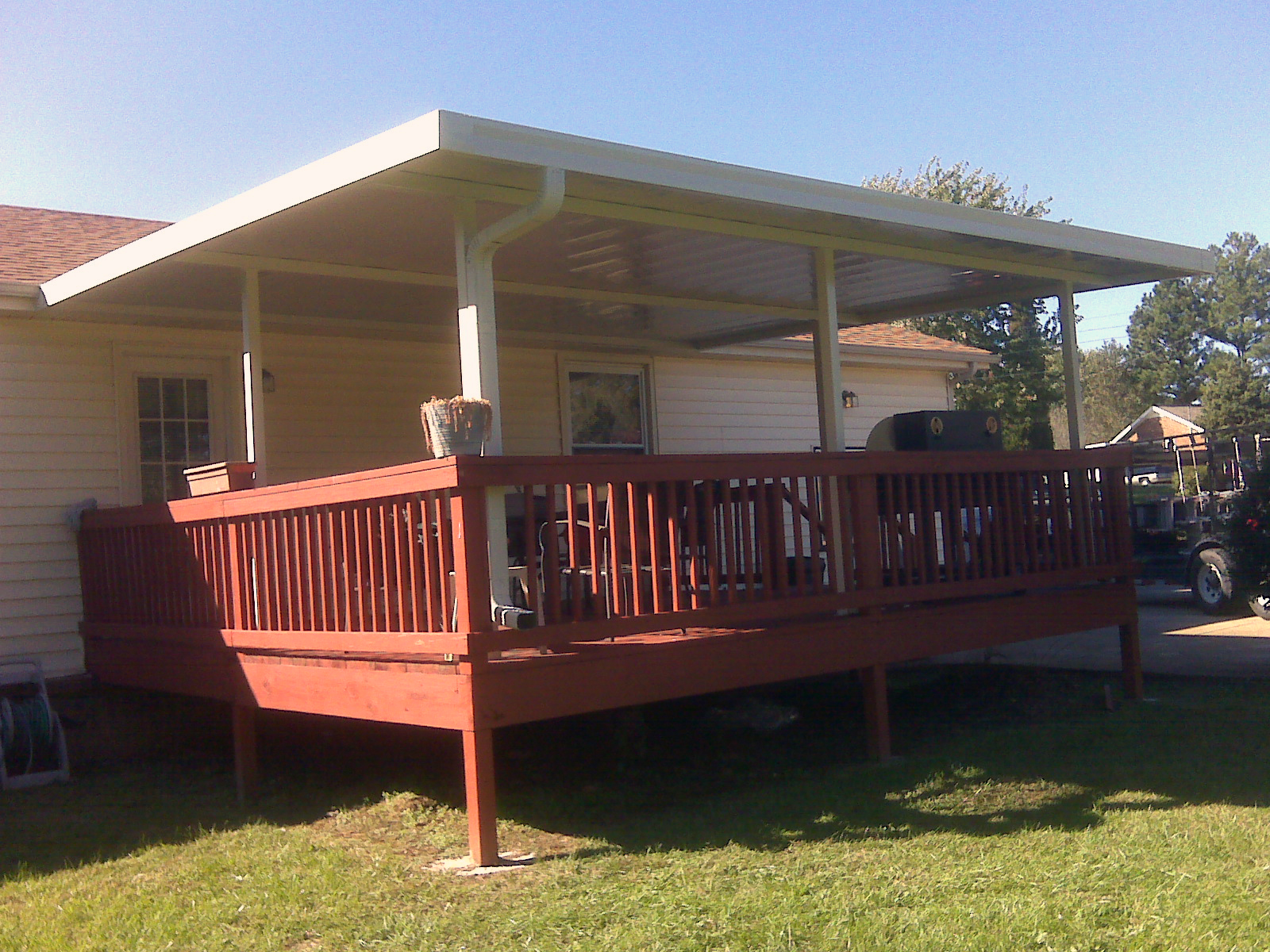 Image of: Home Deck Awning