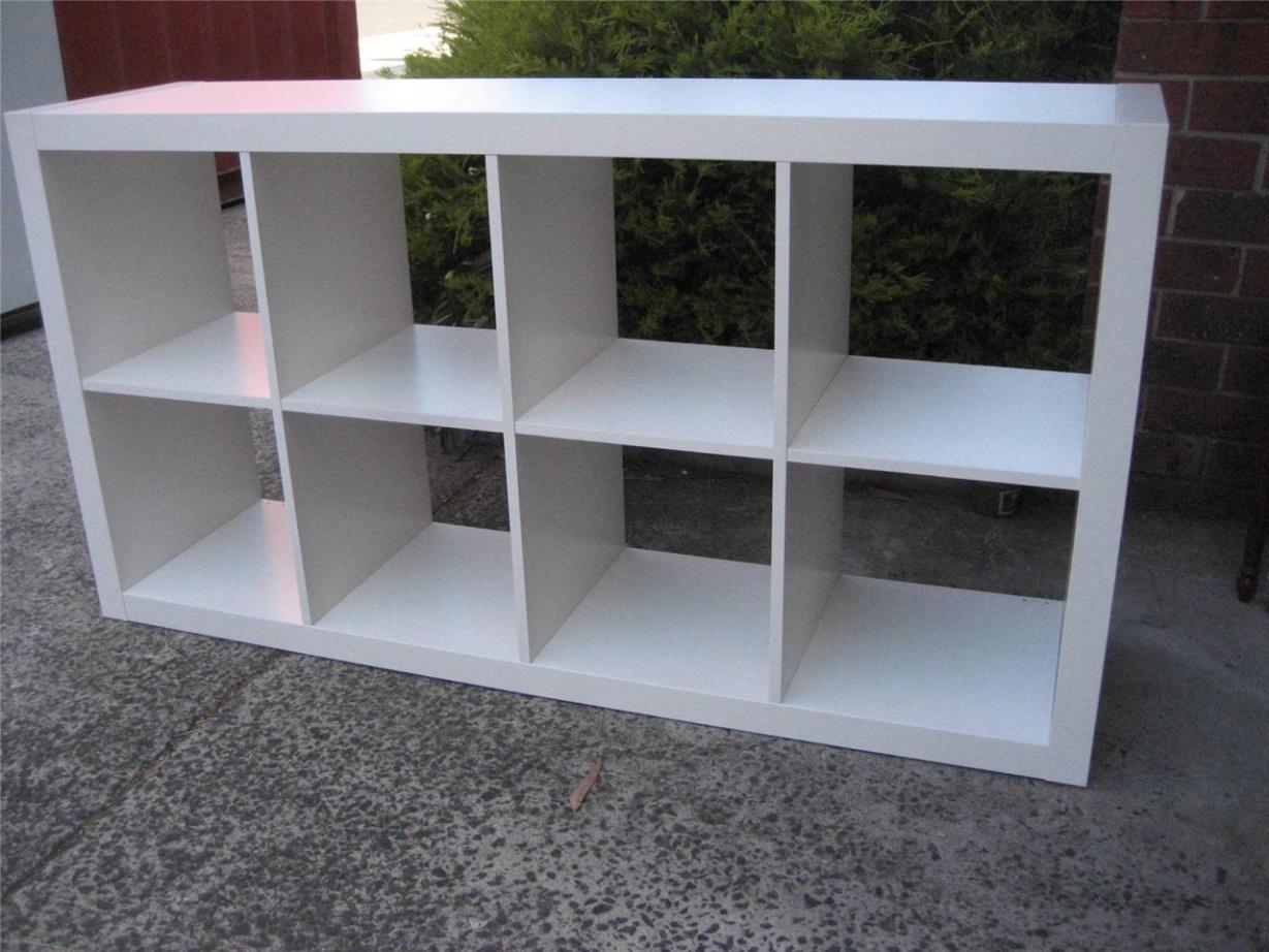 Image of: Horizontal Cube Bookcase