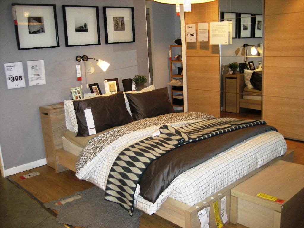 IKEA Bedroom Sets King Malm