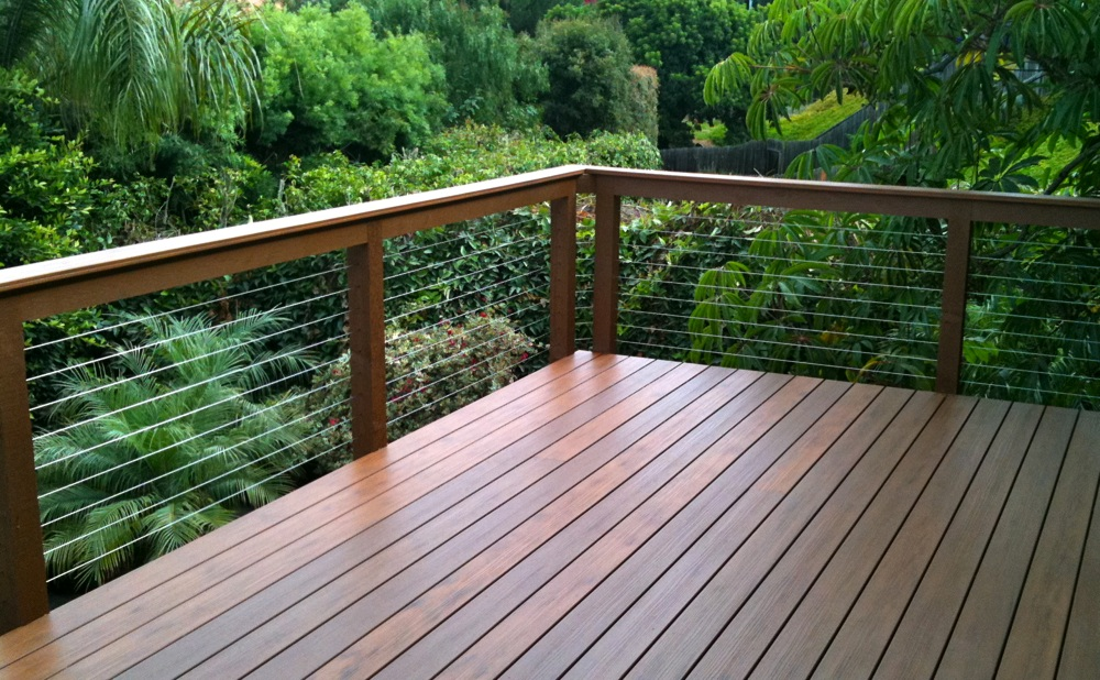 Image of: Ideas Cable Deck Railing Systems