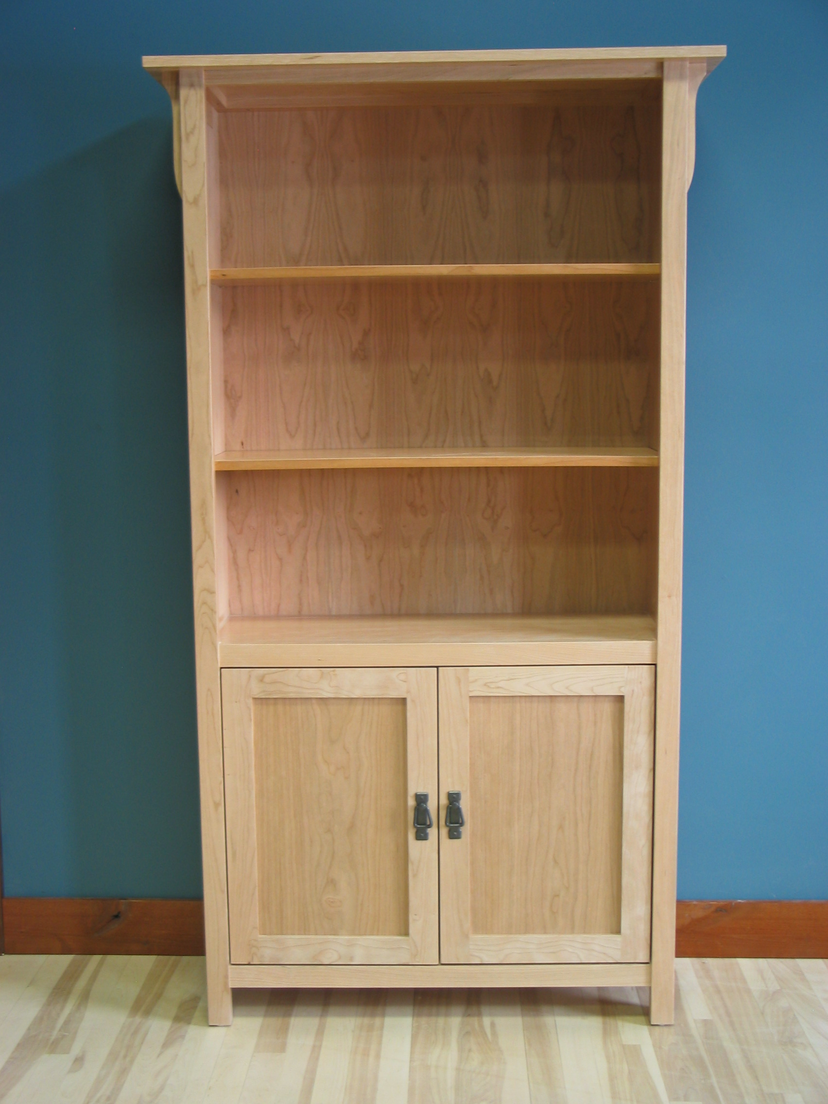 Image of: Ideas Mission Bookcase