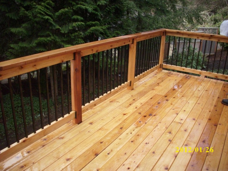 Image of: Ikea Metal Balusters For Deck