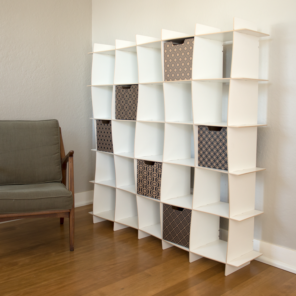 Image of: Images of Cubby Bookcase
