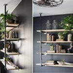 Industrial Bookcase Wall