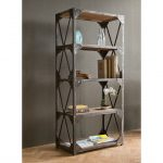 Industrial Bookcase and Shelves