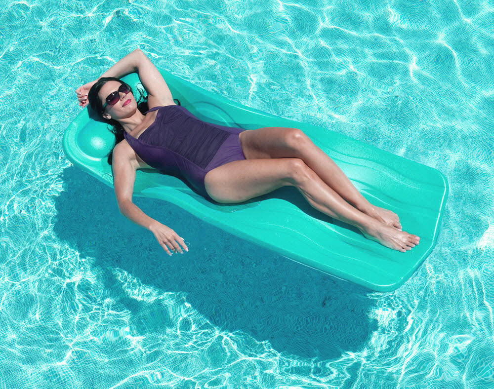 Image of: Inflatable Pool Lounge Float