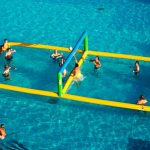 Inflatable Pool Volleyball Net