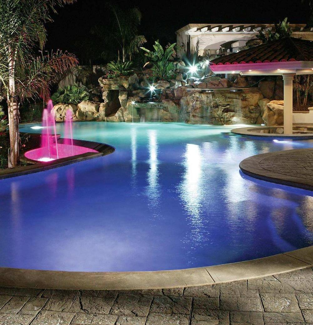 Inground Pool Lights Ideas