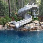 Inground Pool Slides Design