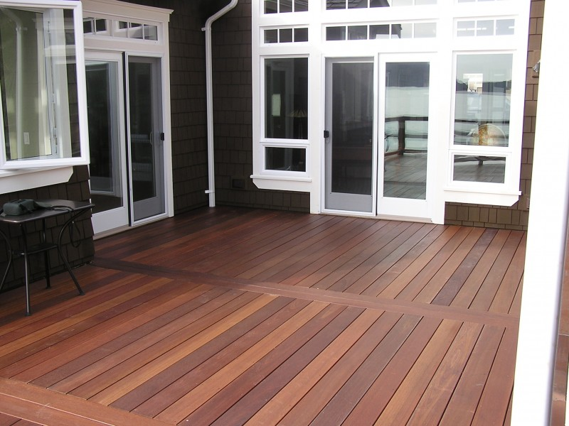 Install Tongue and Groove Decking