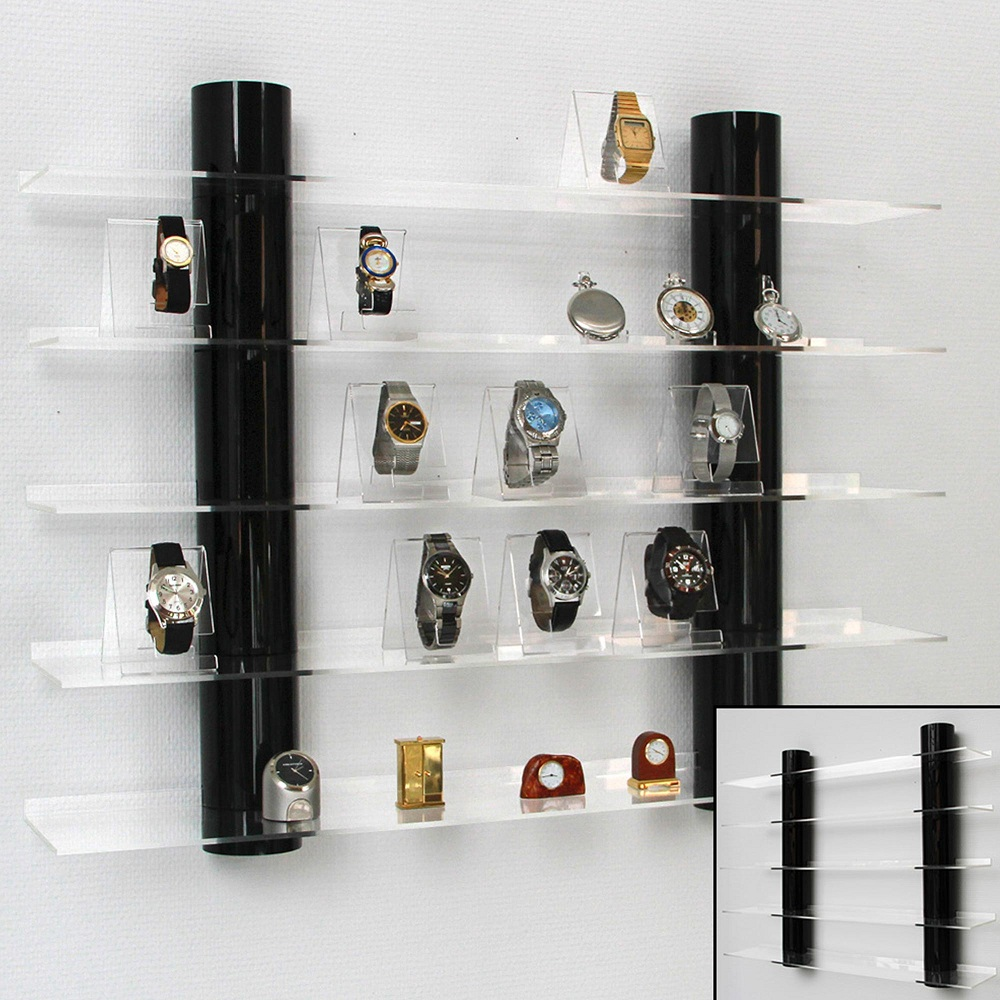 Image of: Intall Acrylic Bookcase