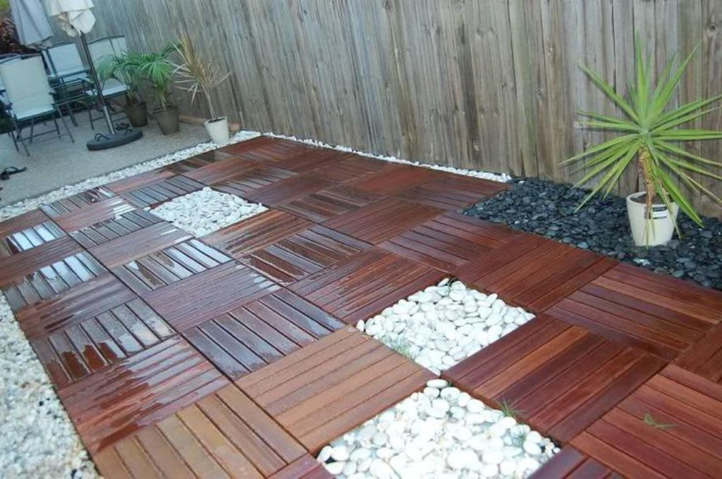 Image of: Interlocking Deck Tiles Porch Flooring