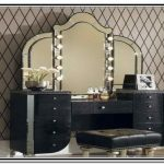 Kids Vanity with Lighted Mirror