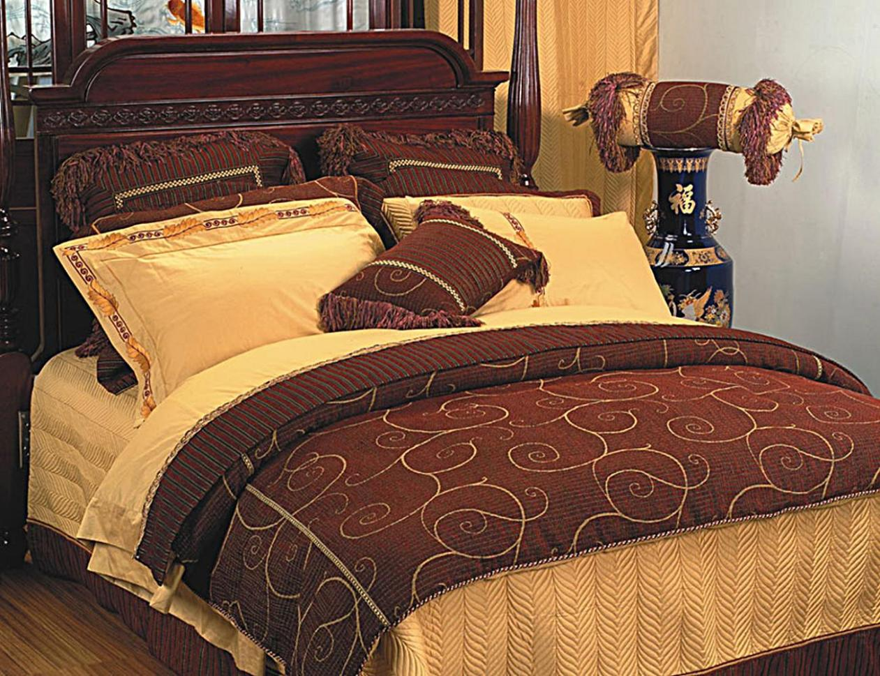Image of: King Size Bedspread Sets