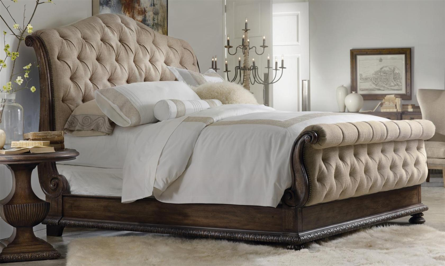 Image of: King Size Tufted Headboards