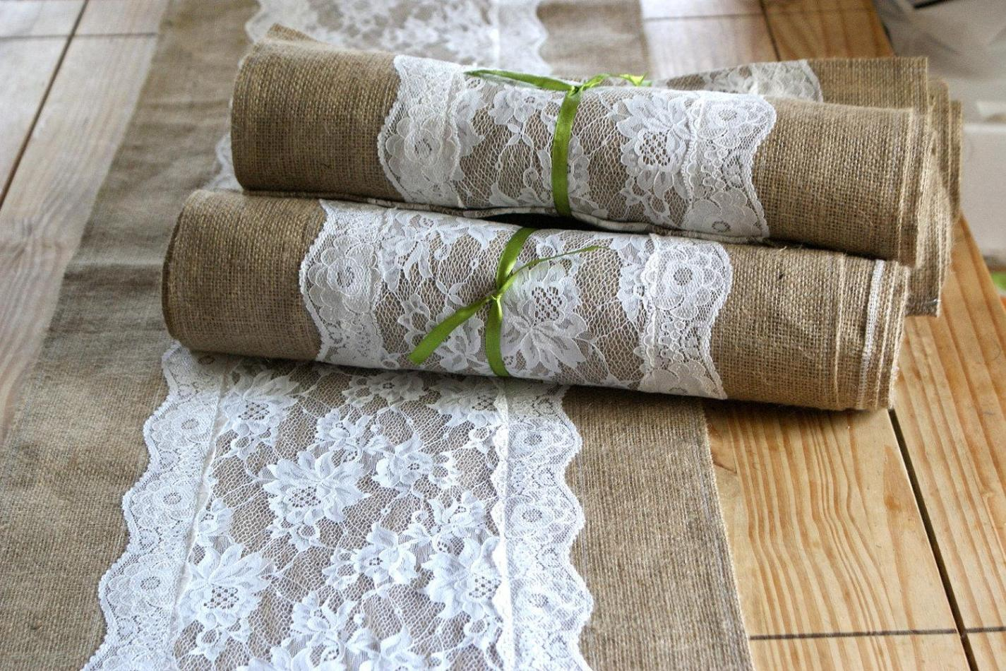 Image of: Lace Table Runner Wholesale