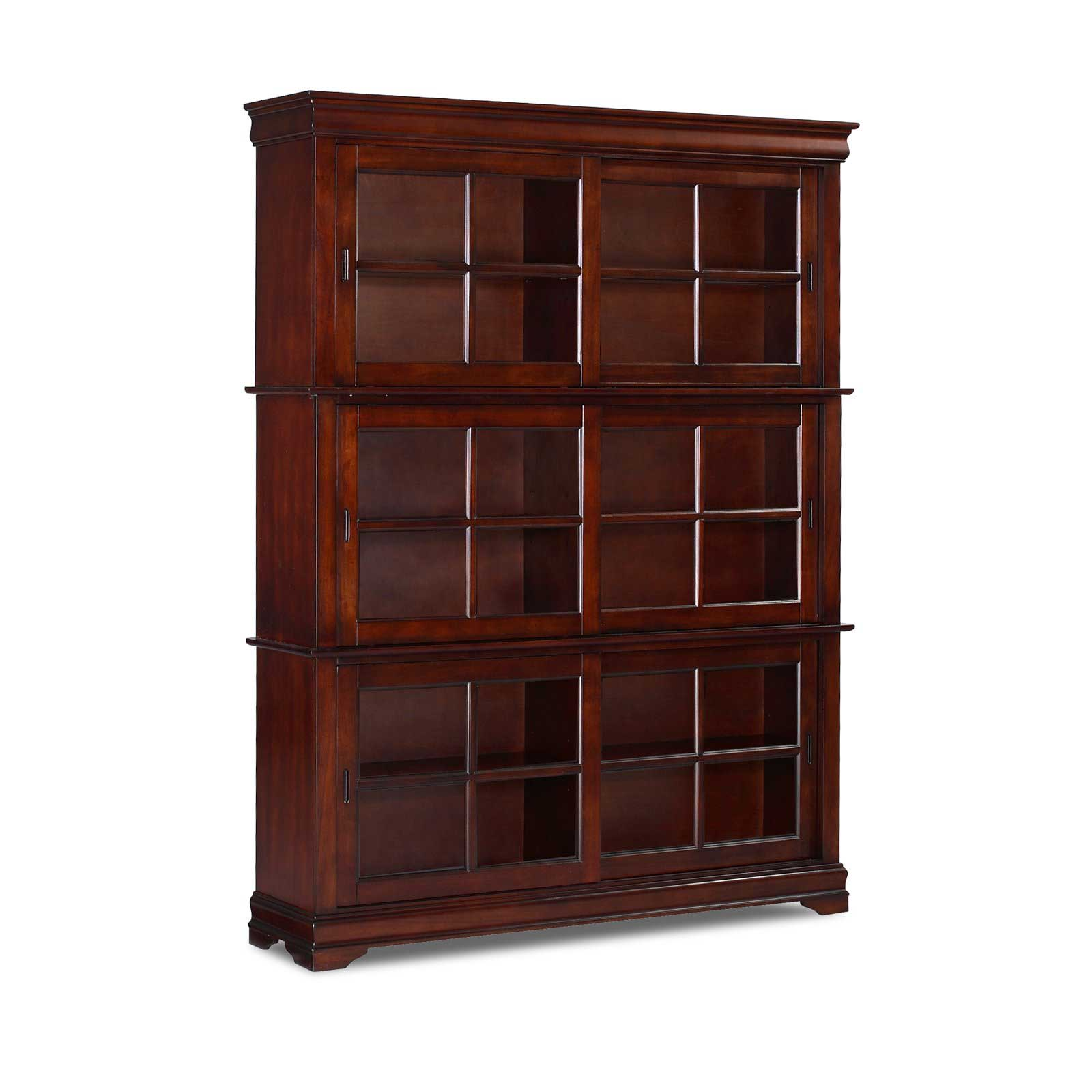 Image of: Large Barrister Bookcase
