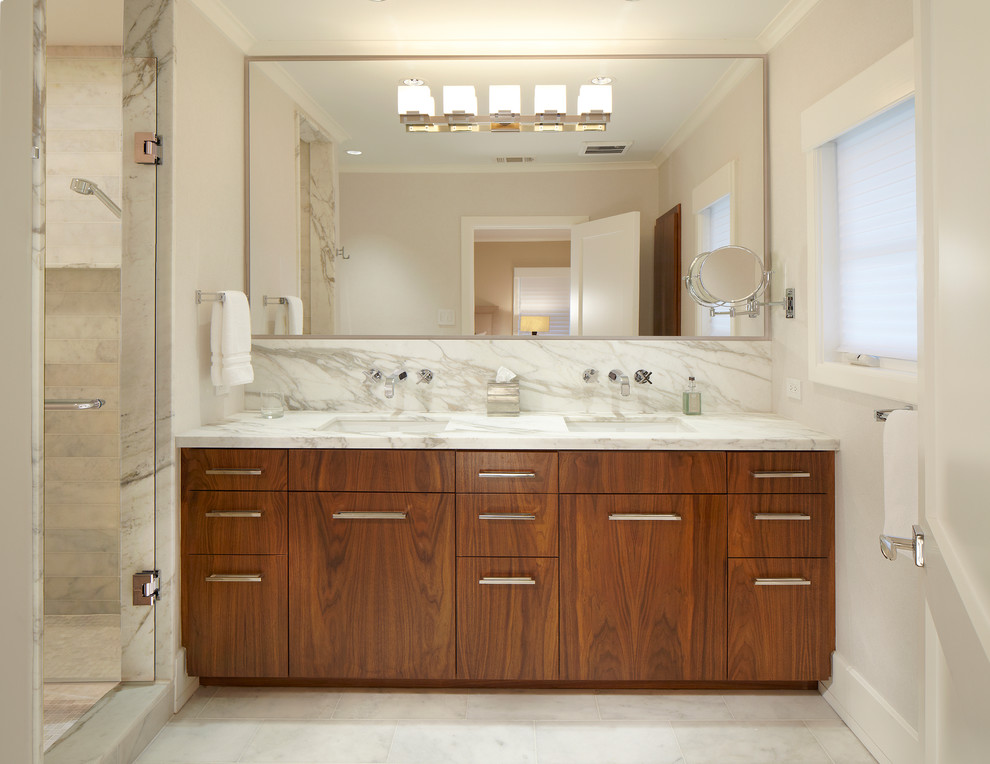 Image of: Large Bathroom Mirror Shapes