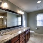 Large Bathroom Mirror with Frame