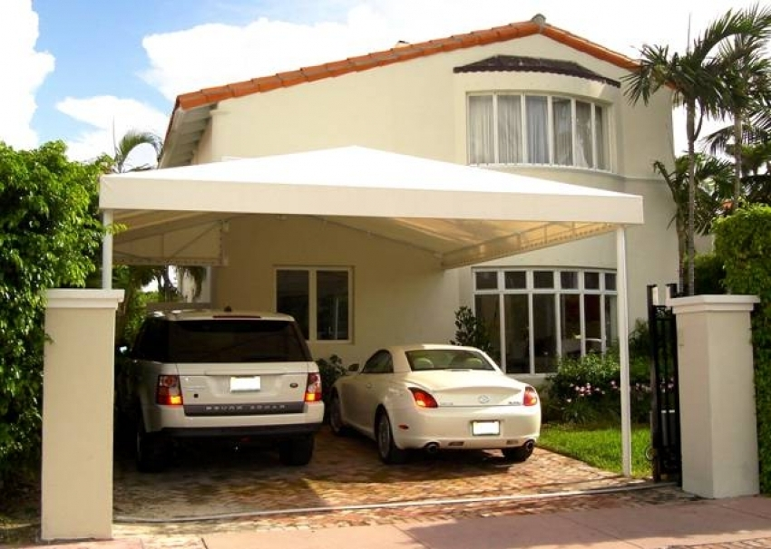 Image of: Large Carport Canopy