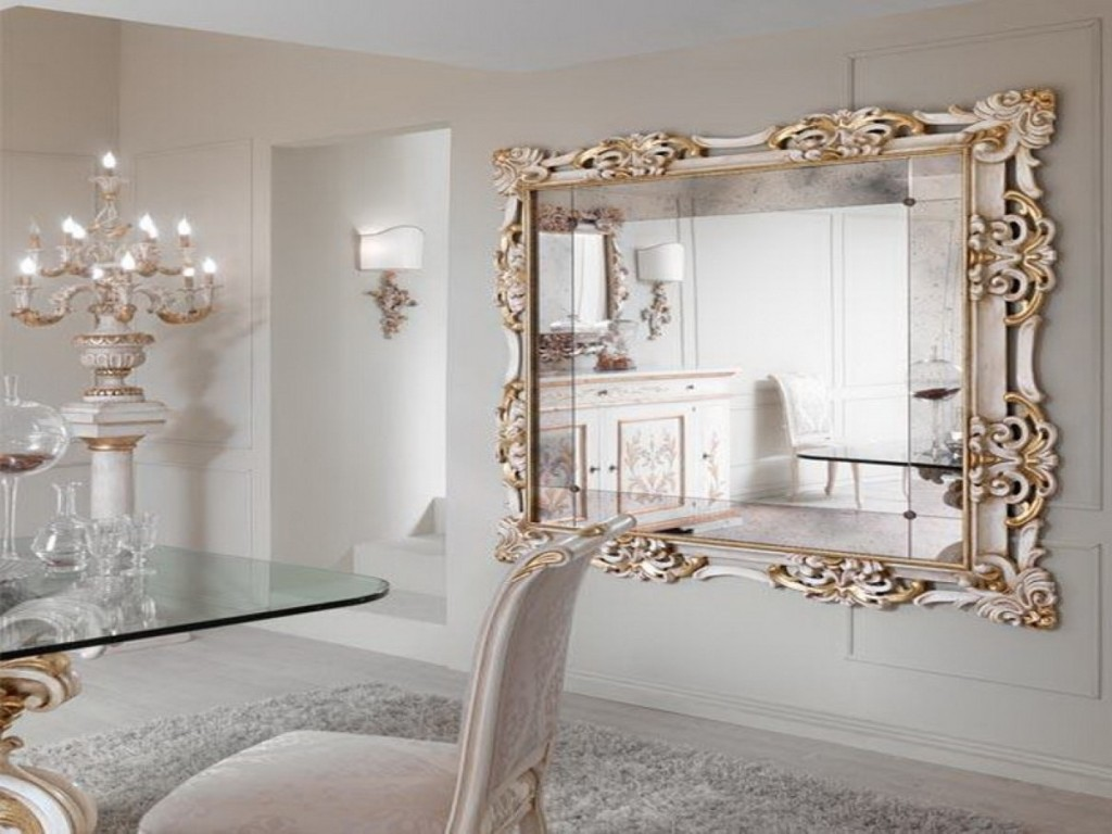 Image of: Large Wall Mirror Art