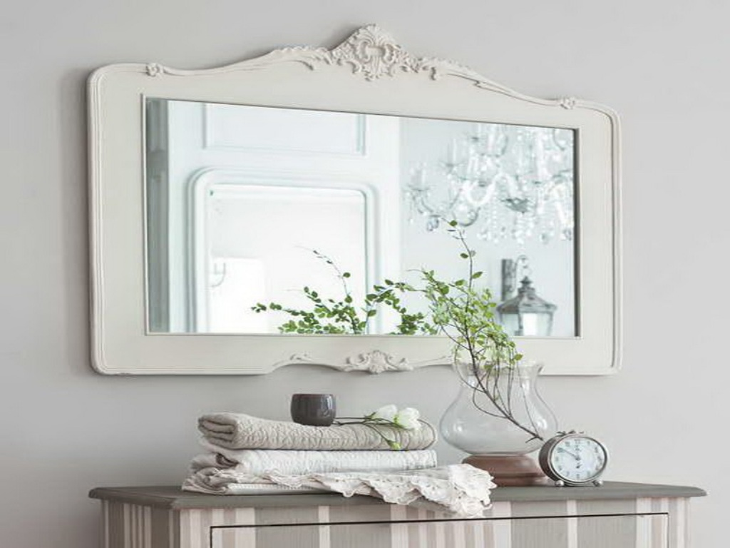Image of: Large Wall Mirror No Frame