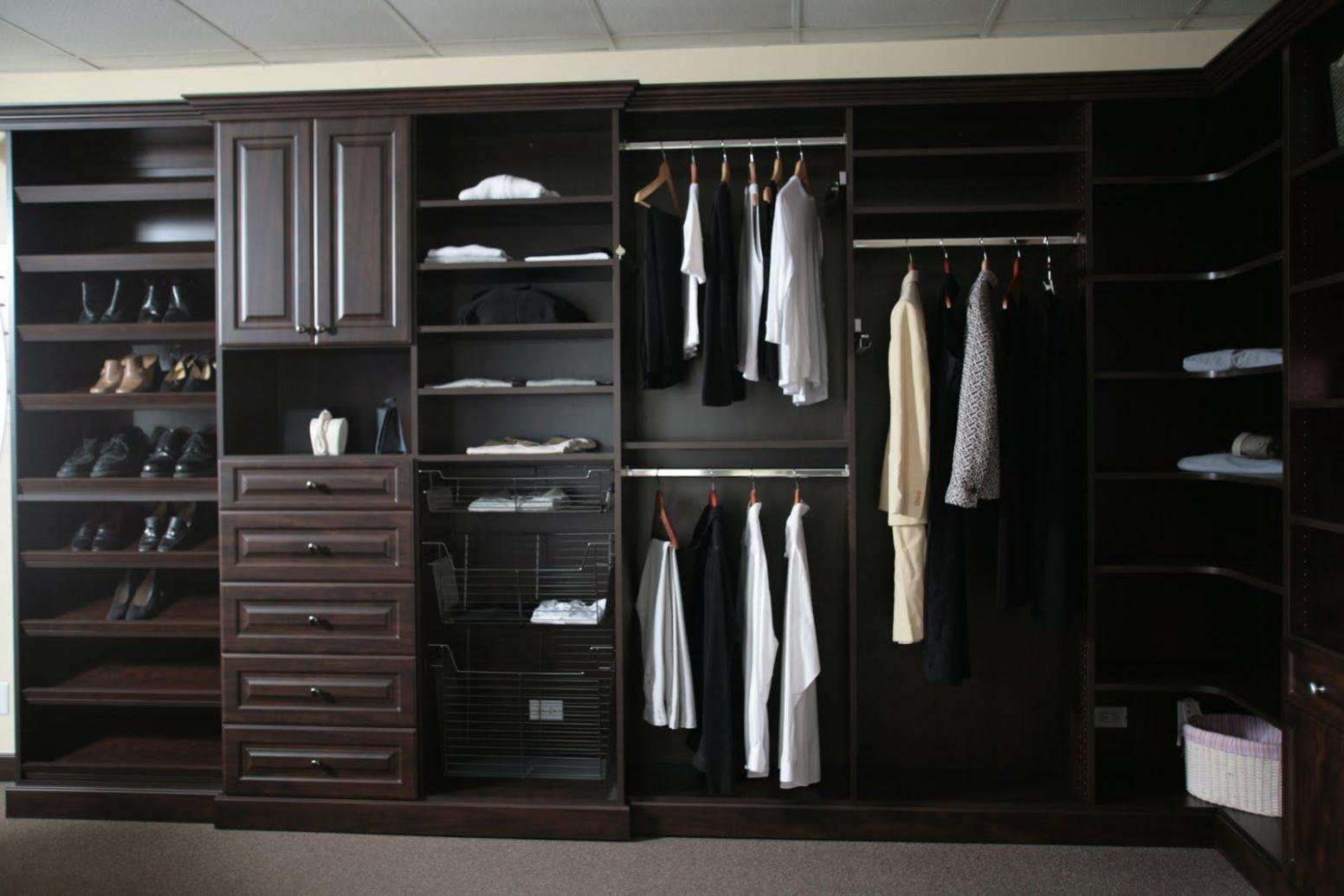 Image of: Large Wardrobe Closets