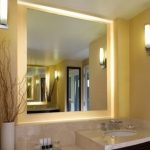 Lighted Bathroom Mirror Replacement